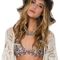 VOLCOM I'M CHARMED WIDE BRIM HAT