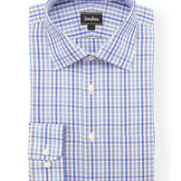 Classic-Fit Non-Iron Dress Shirt, Blue