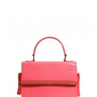 Ted Baker Telia T Emboss Mini Tote Bag in Bright Pink