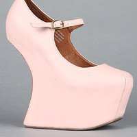 Jeffrey Campbell The Night Walk Shoe in Nude : Karmaloop.com - Global Concrete Culture