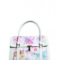 Ted Baker Tahara Sugar Sweet Printed Tote in Pale Green
