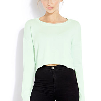 Lazy Day Cropped Sweater