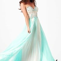 Mac Duggal 81980M Two Tone Gown