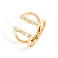 Crystal Parallel Ring