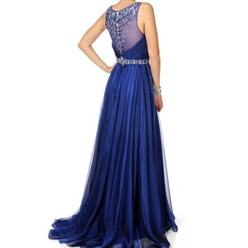 Abrianna-Royal Prom Dress