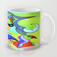 WITHOUT STOPPING Mug by Adka