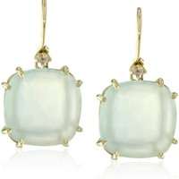 Kalan by Suzanne Kalan Chalcedony Wire Drop Earrings