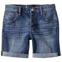Mossimo® Women's Rolled Boyfriend Short - Assorted Washes
