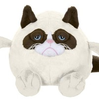 "Ganz Grumpy Cat Ball 7"" Plush"