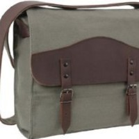 Rothco Men's Vintage Canvas / Leather Medic Bag