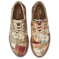 Madras Plaid Men's Brogues