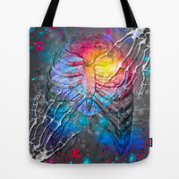 Find My Hand In The Darkness Tote Bag by soaring anchor designs ⚓