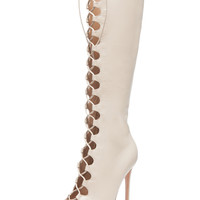 GIANVITO ROSSI - Lace Up Boots in Corda