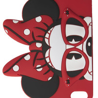 Nerdy Minnie Mouse™ iPhone 5/5S Case | Wet Seal