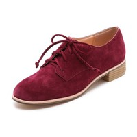 Gentleman's Suede Oxfords