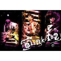 Blink 182 Live Collage Music Poster