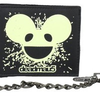 deadmau5 Men's Glow In The Dark Bifold Wallet