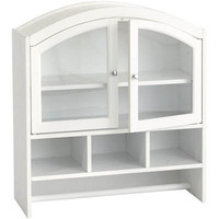 Southern Enterprises White Arch Top Wall Cabinet | Meijer.com