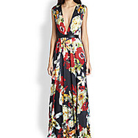 Alice + Olivia - Triss Floral Maxi Dress - Saks Fifth Avenue Mobile