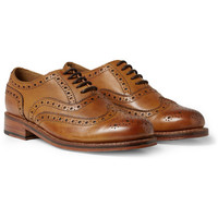 Grenson - Stanley Leather Wingtip Brogues | MR PORTER