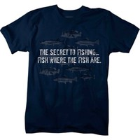 Lifestyle Legends™ Men's Secret to Fishing Printed T-shirt - Tractor Supply Co.