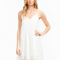 Touch Of Crochet Cami Dress - GoJane.com