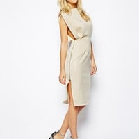 ASOS Premium Open Top Midi Dress