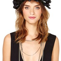 Night And Day Flower Crown - Black