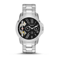Grant Twist Multifunction Stainless Steel Watch