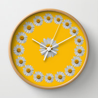 DAISY TIME 2 Wall Clock by Catspaws