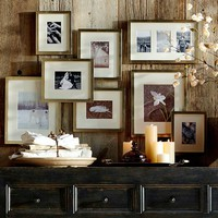 GALLERY IN A BOX - CHAMPAGNE FINISH FRAMES