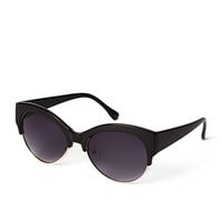 F5704 Sleek Cat-Eye Sunglasses