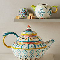 Capan Tea Set by Anthropologie Multi Teapot House & Home