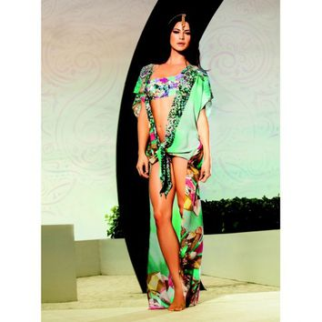 DIAMONDS COVER-UP - Cover Up, Dress, Maxi, Tunic - Paradizia - Besita Boutique