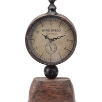 HauteLook | Foreside: Wood Based Iron Clock