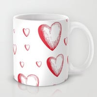 Lovely Hearts Mug by NisseDesigns