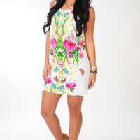 Garden Gorgeous Dress: Multi