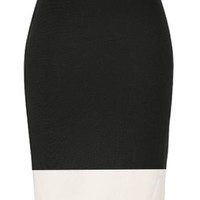 Monochrome Midi Skirt | Black White Knee-Length Pencil Skirts | Rickety Rack