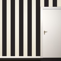 Black Stripe Wall Decal