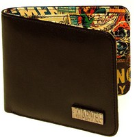 Marvel Retro Interior Print Wallet