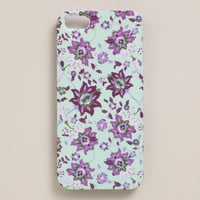 Mint Kai Floral iPhone Case