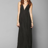 Silence + Noise Triangle-Top Maxi Slip Dress - Urban Outfitters