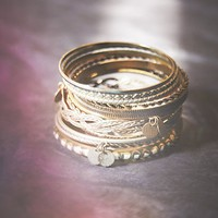 Free People Coin Drop Bangle Set