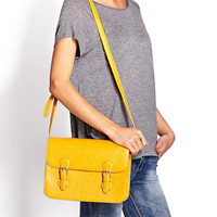 Runaround Faux Leather Satchel