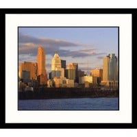 Great American Picture Cincinnati Skyline Framed Photograph - Steven Begleiter - IS247211 - Decor