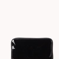 Minimalist Faux Patent Leather Wallet
