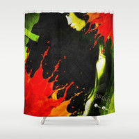 BROKEN Shower Curtain by    Amy Anderson