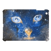Beautiful Cosmic Kitty - Stars iPad Mini Case