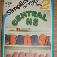 Simplicity Sewing Pattern 5229 Uncut Alphabet Letter Pillows Plush Stuffed DIY Beginners Choice Level 2 Pillow Craft Design