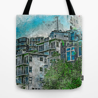 TwinPeaks favelas 2020 Tote Bag by Tommy Noshitsky